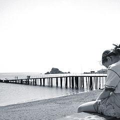 "photo ""At a pier"""