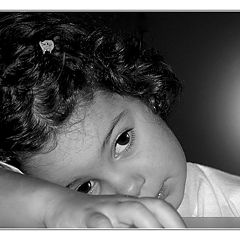 "photo ""The sad eyes of a Child."""