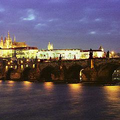 """photo """"Prague at night"""""""