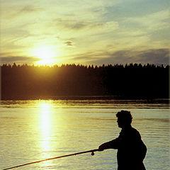 """photo """"The fisherman."""""""
