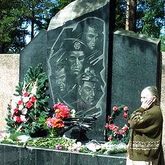 "photo ""Echo of the Chechen war."""