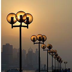 """фото """"Misty Sunset"""""""