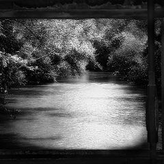 "фото ""River in a frame"""