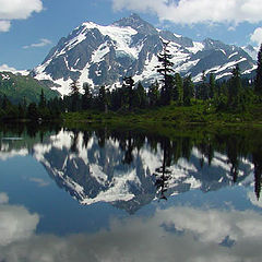 "photo ""Mount Shuksan"""