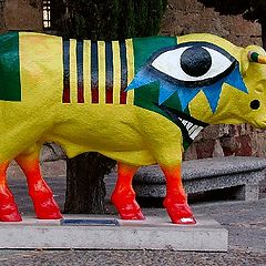 """photo """"Bull of picasso"""""""