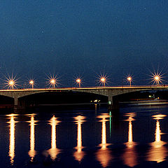 "фото ""Мост через Волгу... (Ярославль)"""