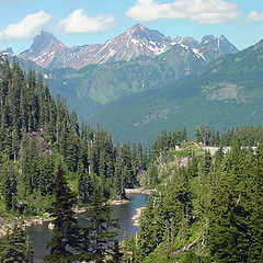 "фото ""Cascade Mountains of Washington"""