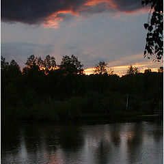"""photo """"Twilight on the river"""""""