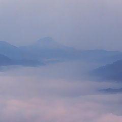 """фото """"Горные вершины спят во мгле..."""""""
