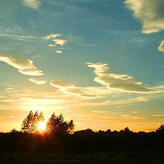 """фото """"Enniskillen Sunset"""""""