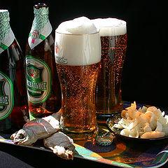 "фото ""Натюрморт с пивом"""