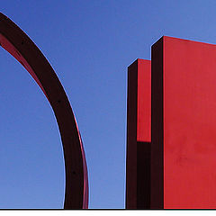 "фото ""Sculpture in red II"""