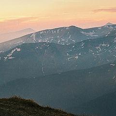 """фото """"Ещё один закат с видом на Черногору"""""""