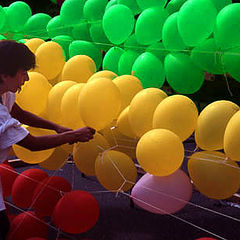 "фото ""Balloon Man, Tokyo Japan"""