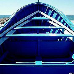 "фото ""The Blue Boat"""