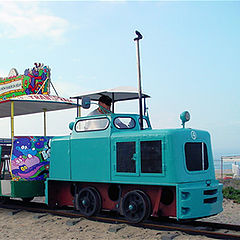 "фото ""Beach Train"""
