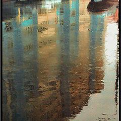 "фото ""Асфальтовое зеркало дождя"""