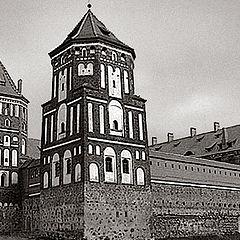 "photo ""Belarus. Mir. Old castle."""