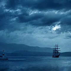 "photo ""Ships Coming to Shore"""