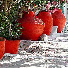 "фото ""Red pots"""