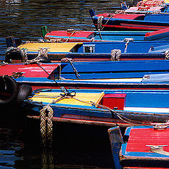 """photo """"Boats in Line"""""""