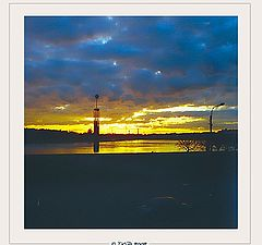 """photo """"Sunset in St. Petersbourg"""""""