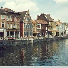 "photo ""Ghent (Belgium) - The Channel"""