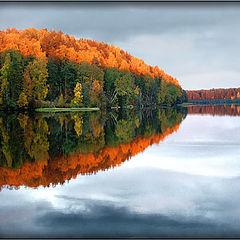 """photo """"Old autumn mirror..."""""""