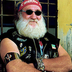 "фото ""The Bikers`Santa Claus"""