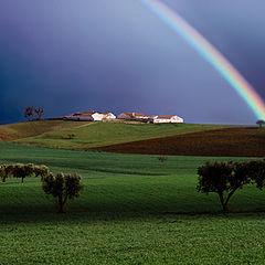 "photo ""Rainbow - Alentejo, Portugal"""