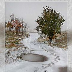 """photo """"Yet winter, but already and not an autumn."""""""