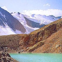 """photo """"Ice Lake"""""""