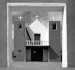 "фото ""Church, Taos N.M."""