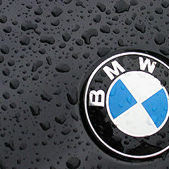 "photo ""Raining on BMW"""