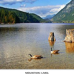 "photo ""Mountain Lake"""