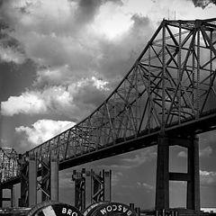 """фото """"Constructing new bridge"""""""