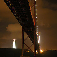 "photo ""Bridge over the river Tagus"""
