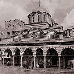 "photo ""Bulgaria. Rila monastery (series ""Post cards for g"""