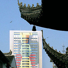 """photo """"Shanghai Old and New"""""""