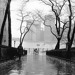 "фото ""New York & Fog"""