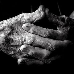 "фото ""Grandpas Hands"""