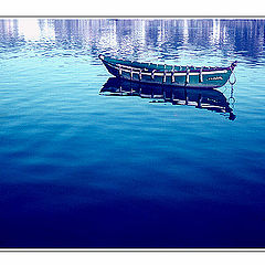 """фото """"The Boat is dreaming over the Blue..."""""""