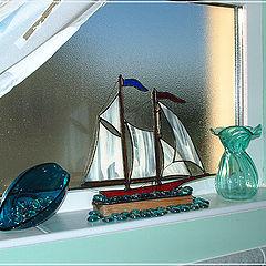 "фото ""Bathroom windowsill"""