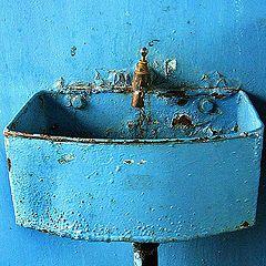 "photo ""Blue basin"""