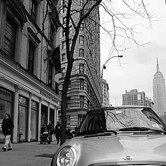 "фото ""Somewhere in Manhattan.."""