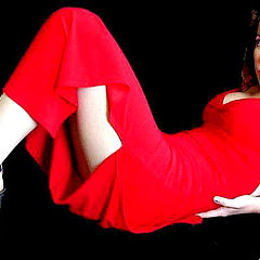 "фото ""Red Dress Passion"""