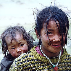 """фото """"Дети Тибета #1"""""""