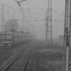 """фото """"Поезд, уходящий вникуда"""""""