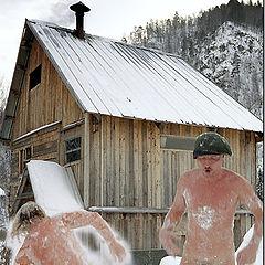 "photo ""Siberian bath"""