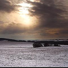 """фото """"Bohemian Landscape 09 - Wintertime"""""""